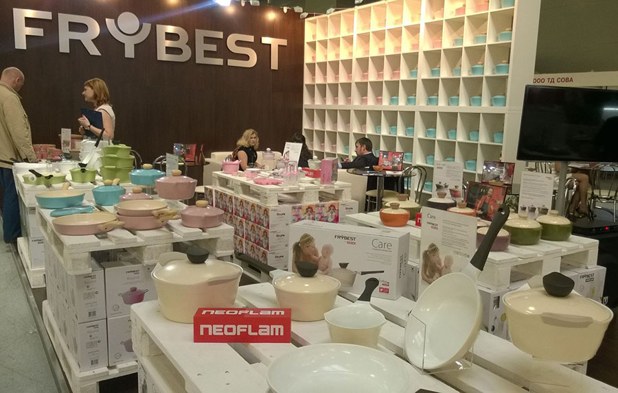 FRYBEST на HOUSE HOLD EXPO 2014