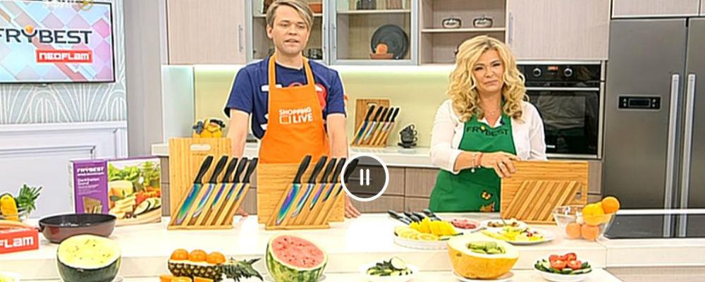 День супер предложений и вкусных блюд от Frybest на Shopping Live